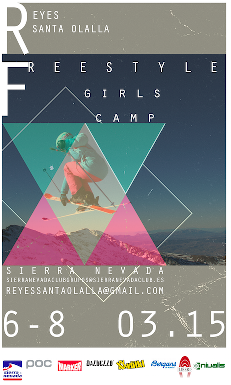 Freestyle Girls Camp en Sierra Nevada