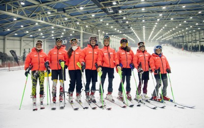 Primera carrera Liga Indoor 2015-2016 en Madrid SnowZone