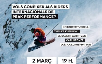 Conoce a los riders del Freeride World Tour en Andorra