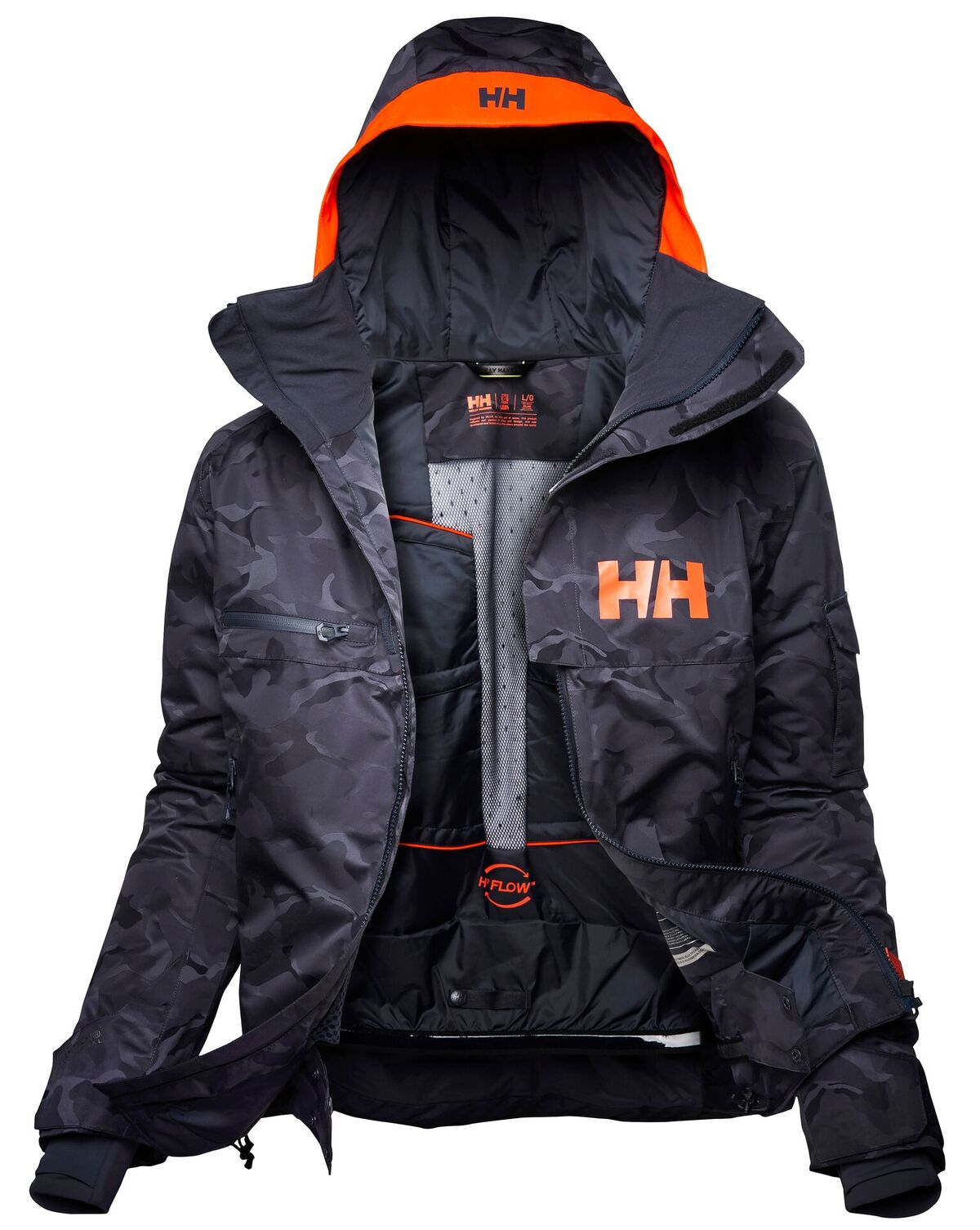 Helly Hansen. Garibaldi, W Powderqueen 2.0 y JR Skyhigh Jackets