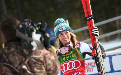 Victoria de Mikaela Shiffrin en el Super Gigante de Lake Louise (CAN)