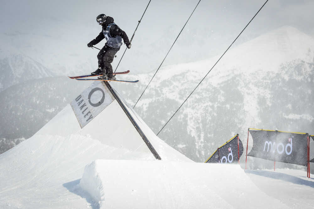 Javi Lliso pasa a la final del Grandvalira Total Fight freeski