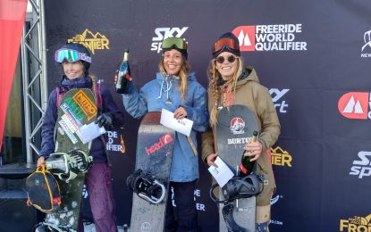 Núria Castán líder del Freeride World Qualifier 2020