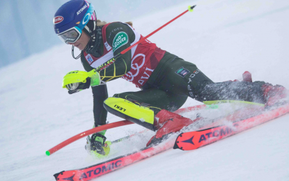 Mikaela Shiffrin regresa a la competición
